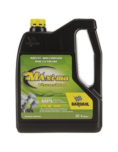 Aceite Maxima Viscosidad 25w60 4 X 4 L