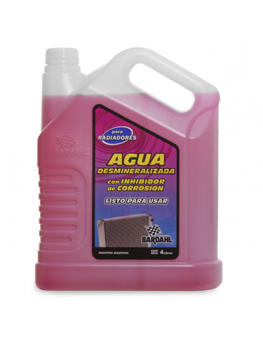 Agua Con Inhibidor De Corrosion 4 X 4 L
